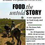 Food  -the untold story